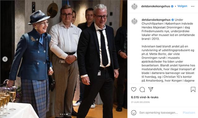 Koningin Margrethe II van Denemarken opent Frihedsmuseet | Heijmerink Wagemakers